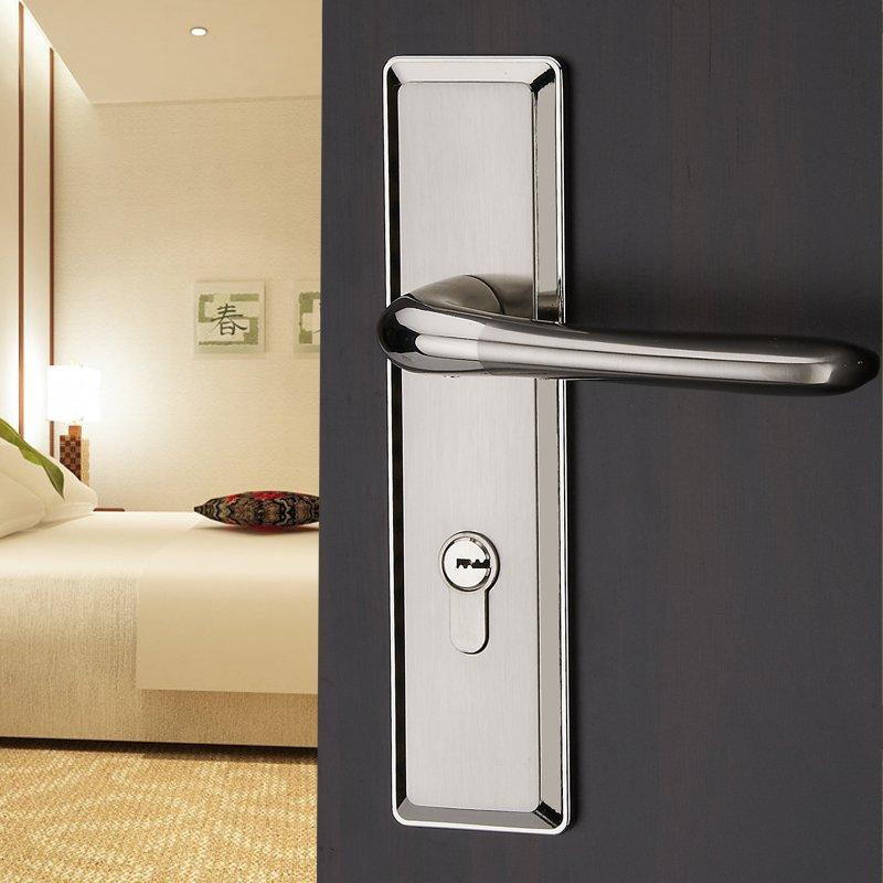 the modern european style double tongue bedroom door lock door