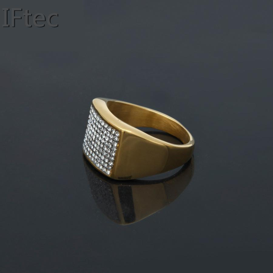 Average Size Mens Ring Finger