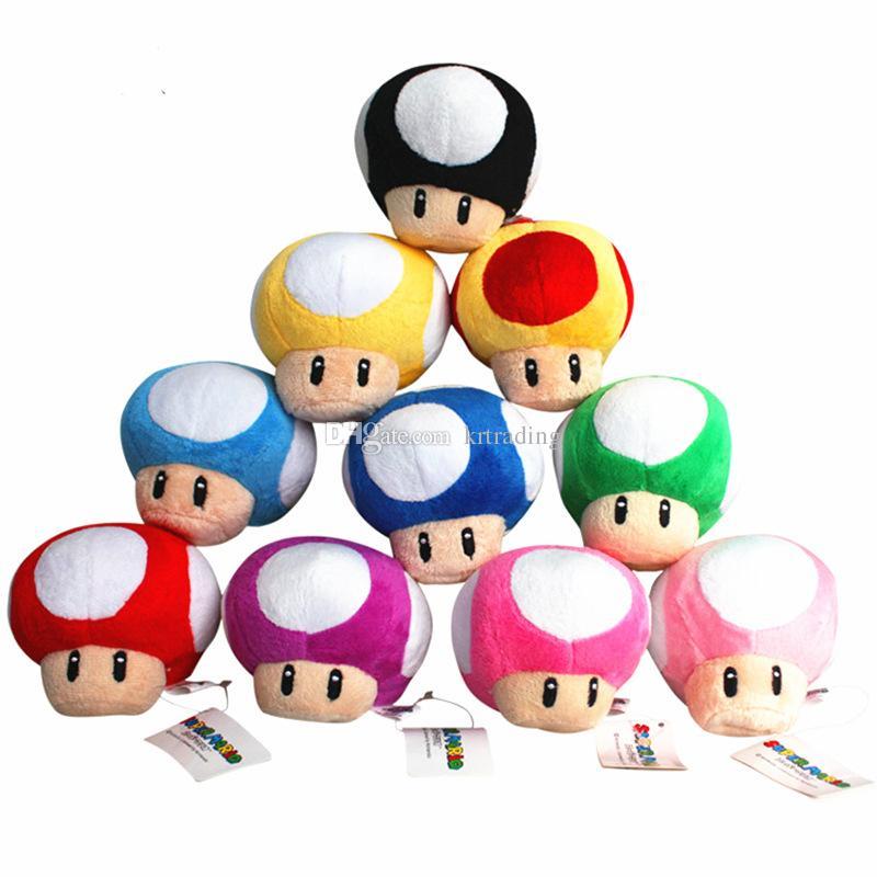 2019 Cute Super Mario Figures Plush Toys 6cm Toadette Toad