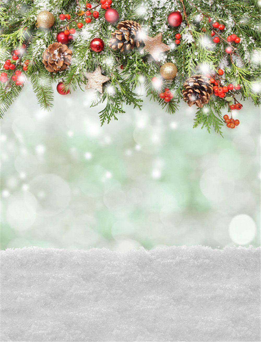 Compre Fondo De Navidad Fotografa De Vinilo Telones De