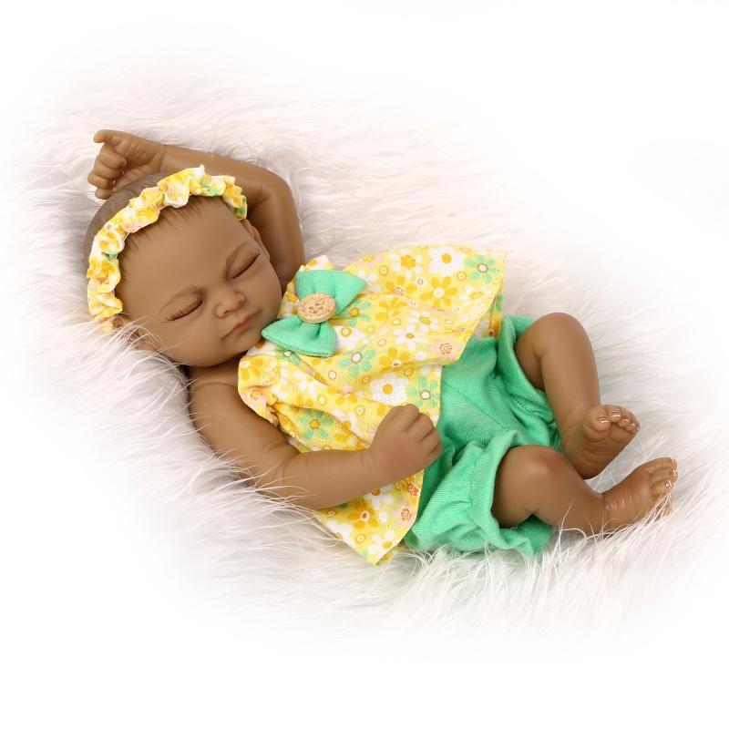 American Reborn Baby Boy African