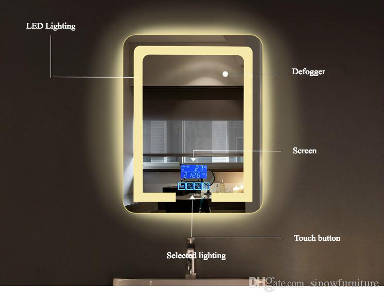 bathroom wall mount lighting led vanity mirror with lights