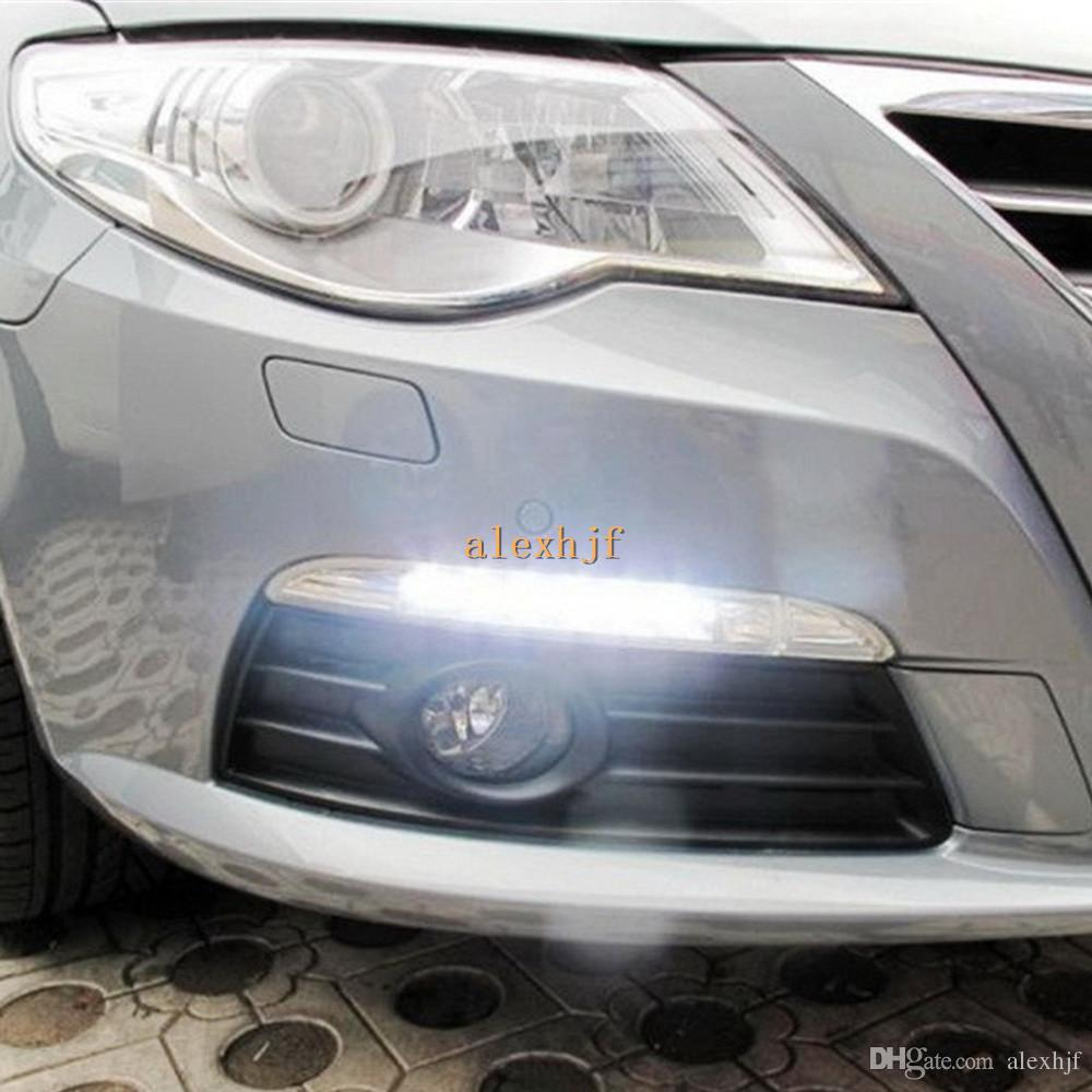 Super Bright Led Daytime Running Lights Drl For Volkswagen Passat Cc