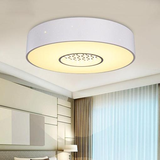 2018 Modern Simple Iron Acrylic Ceiling Lamp Round Bedroom Study     2018 Modern Simple Iron Acrylic Ceiling Lamp Round Bedroom Study Children S  Room Lamp Led Warm Three Color Variable Light Ceiling From Miray