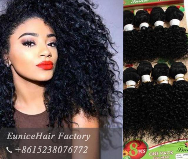 Human Hair Deep Curly Peruvian African Weave Bundles Bundles Lot Kinky Curly Hair Women Inch Short Weave Extensions Jerry Curl Hair Bundle