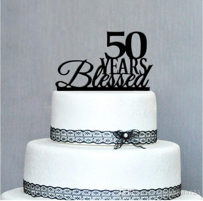 50th Birthday Cake Toppers Higtwallaper