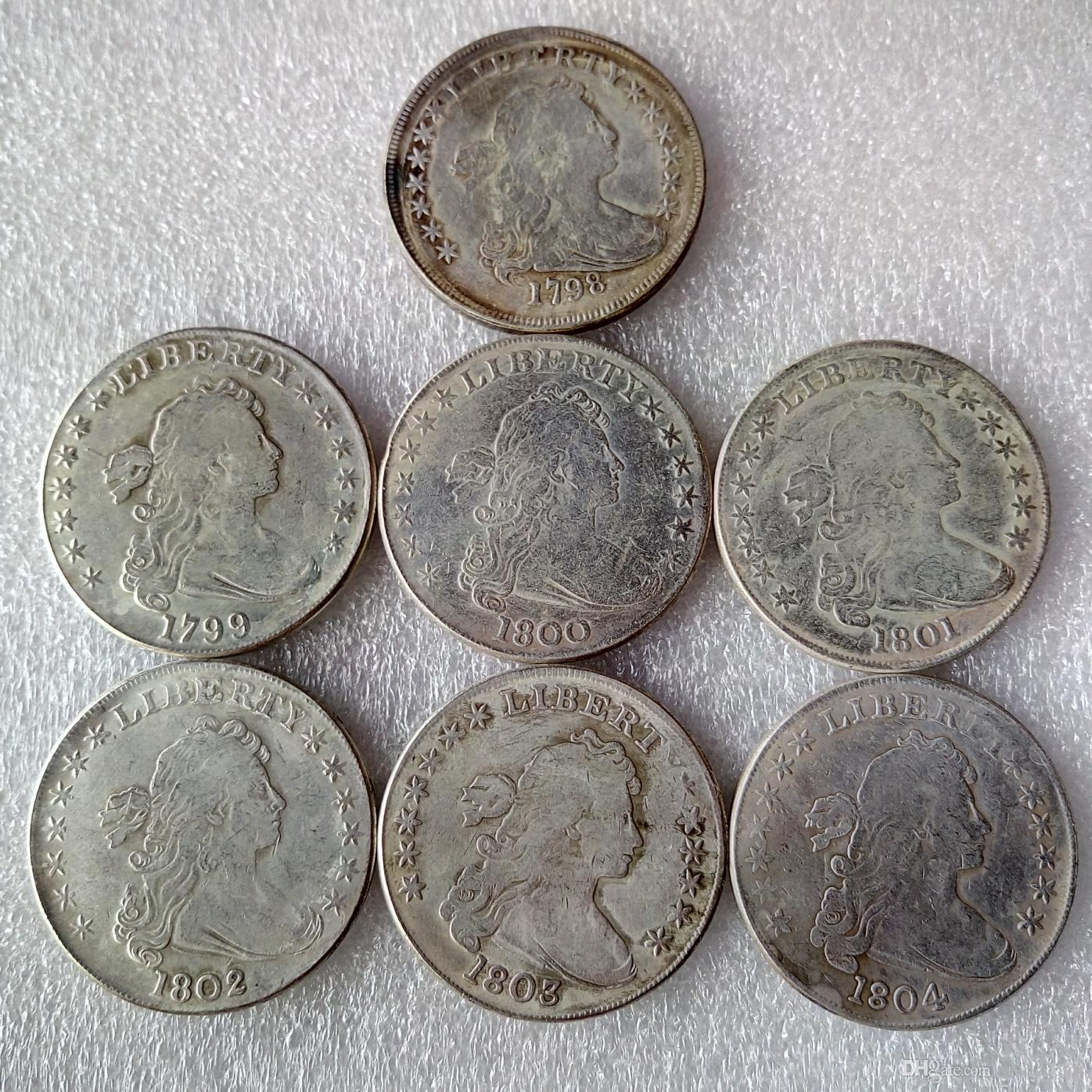 United States Coins D D Bust Brass