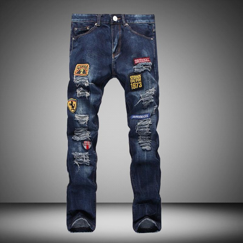 Jeans Ripped High Waist Wholesale