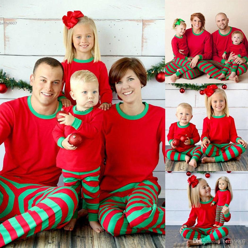 Christmas Xmas Family Matching Outfits Kids Adult