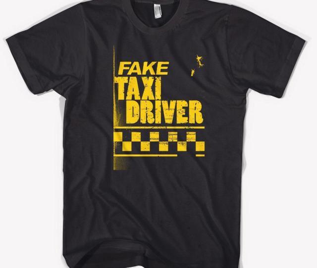 Iam Fake Taxi  T Shirt Black Size S M L Xl Xl Xl Cool Shirt