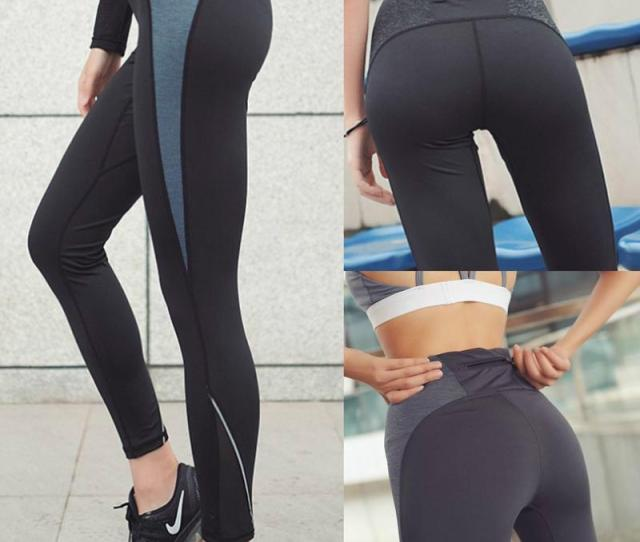 New Women Nice Leggings High Quality Thin Sports Yoga Pants Fitness Running Long Trousers Legging Tight Sportwear High Quality Thin Sports Yoga Pants