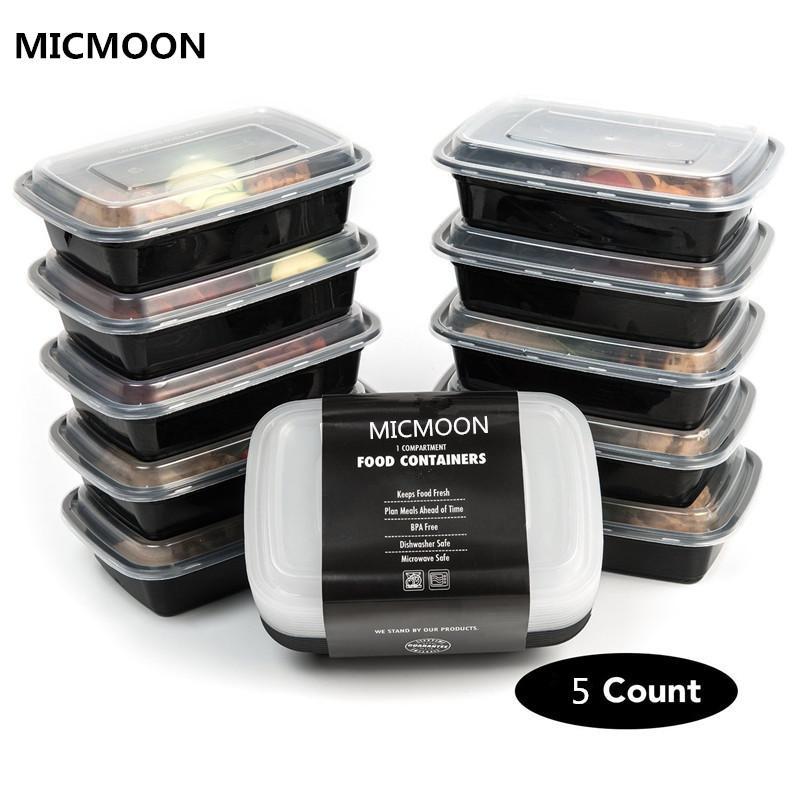 acheter contenants de rangement en plastique a 1 compartiment avec couvercle four a micro ondes et a vaisselle au lave vaisselle boite a bento