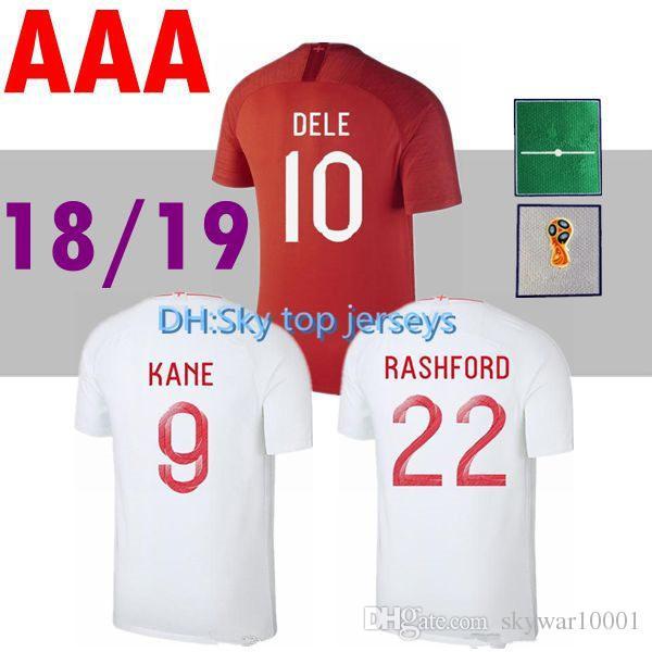 2018 كرة القدم جيرسي كأس العالم روني الرئيسية كين ستريديج استرلينج