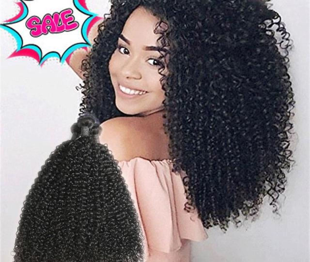 Malaysian Curly Hair Weave  Bundles Malaysian Kinky Curly Human Hair Extensions  Unprocessed Virgin Hair Mixed Length   Brazilian Remy Hair Weave