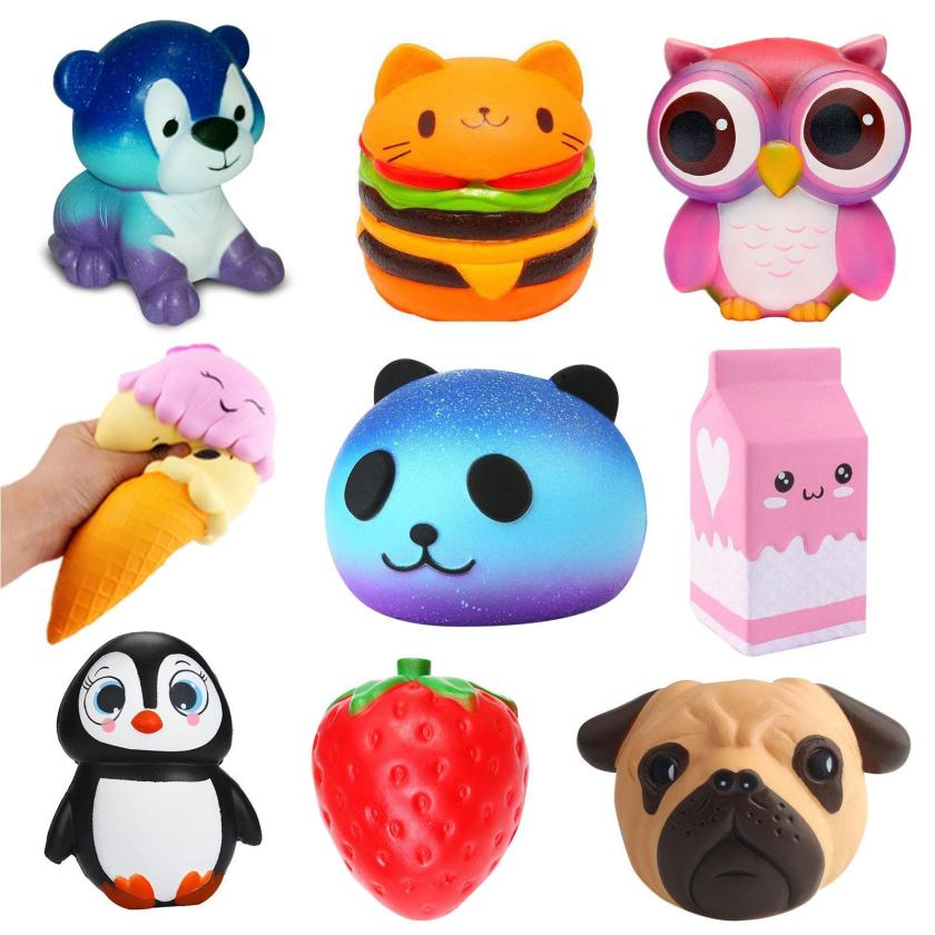 compre jumbo slow rising squishies scented squishy squeeze