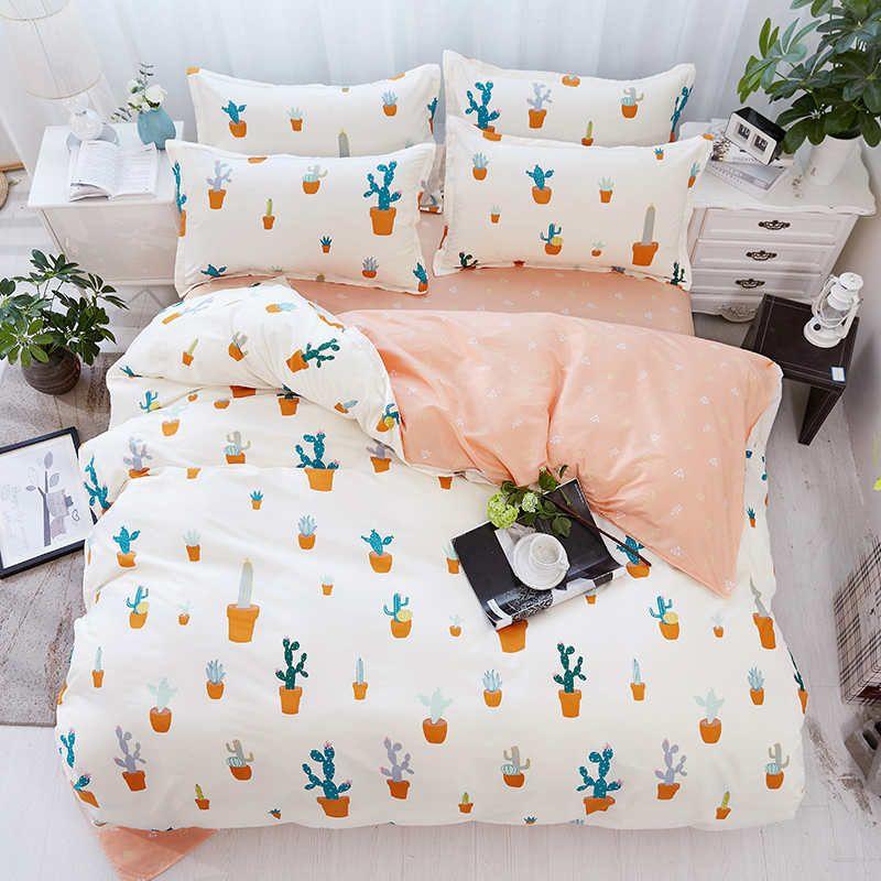 acheter elegant housse de couette taie d oreiller unique double double complet queen king couvre lits home textiles linge de lit requin cheval chat plante