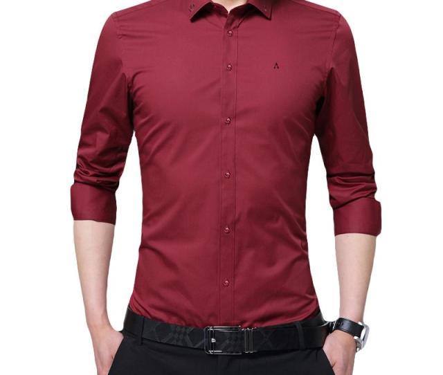 Dudalina New Men Casual Shirt Brand Clothing Cotton Tuxedo Mens Dress Shirt Long Sleeve Slim Male Business Shirts M Xl Canada  From Baica