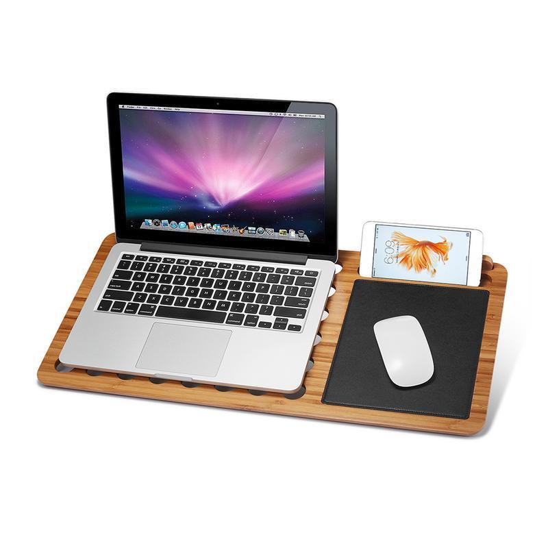acheter refroidissement pour ordinateur portable tapis de souris support en bois amovible base innovante multifonctionnelle pour toutes sortes de 13 pouces