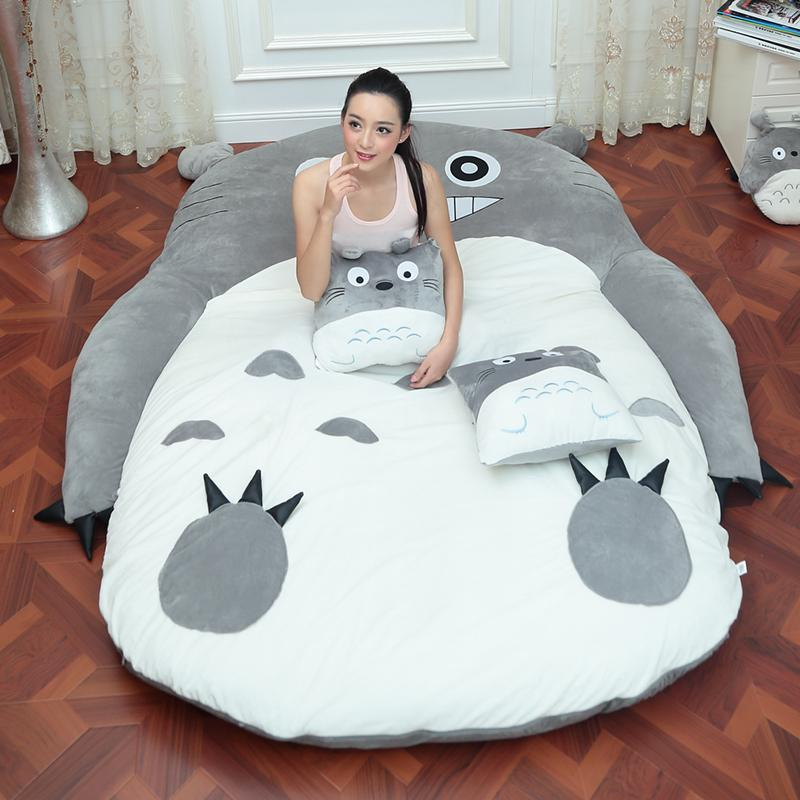 4 taille grand totoro simple et double lit jpg