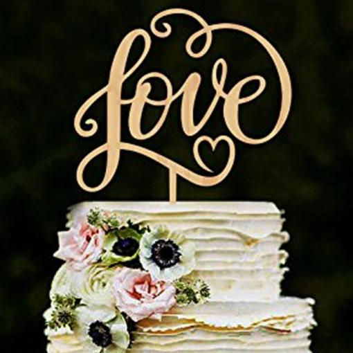 Mr And Mrslove Antic Rustic Wedding Cake Topper Laser Cut Wood     Mr And Mrslove Antic Rustic Wedding Cake Topper Laser Cut Wood Letters Wedding  Cake Decorations Favors Supplies Engagement Wall Decorations For Party Wall