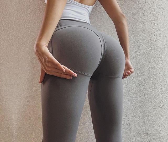 2019 Sexy Big Booty Leggings For Women Sport Fitness High Rise Gym Tights Scrunch Butt Leggings Push Up Athletic Leggings Sportswear From Streetwearstore