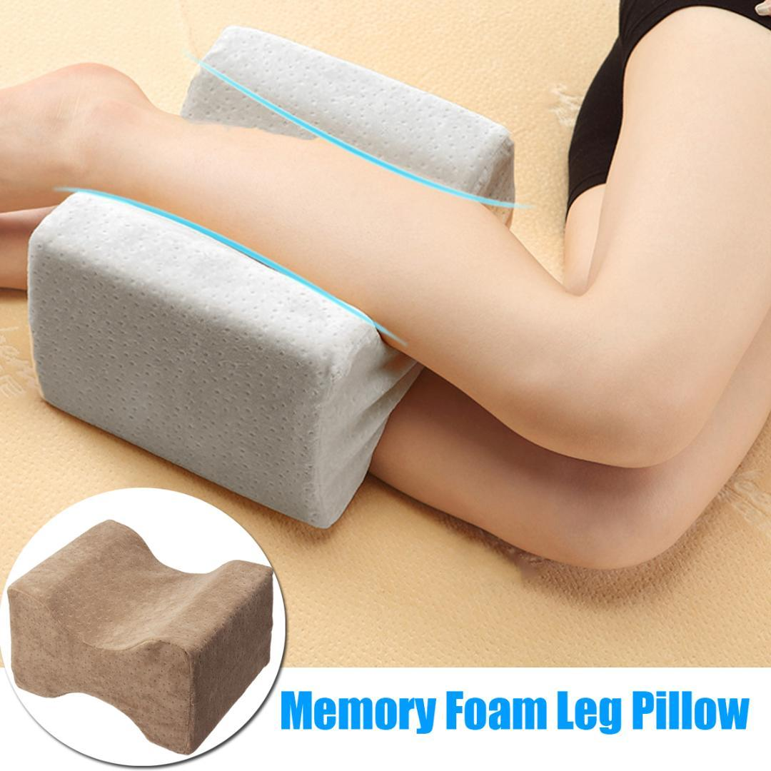 acheter oreiller de jambe de mousse de memoire multifonctionnelle lente rebound wedge coussin de genou pour le soulagement de voyage enceinte douleur corps