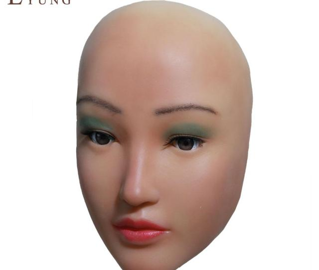 Chinesebeauty Sophia Angel Face Silicone Mask Crossdresser Masquerade Shemale Cosplay Sissy Boys Female Masks For Drag Queen Makeup Diy Carnival Masks