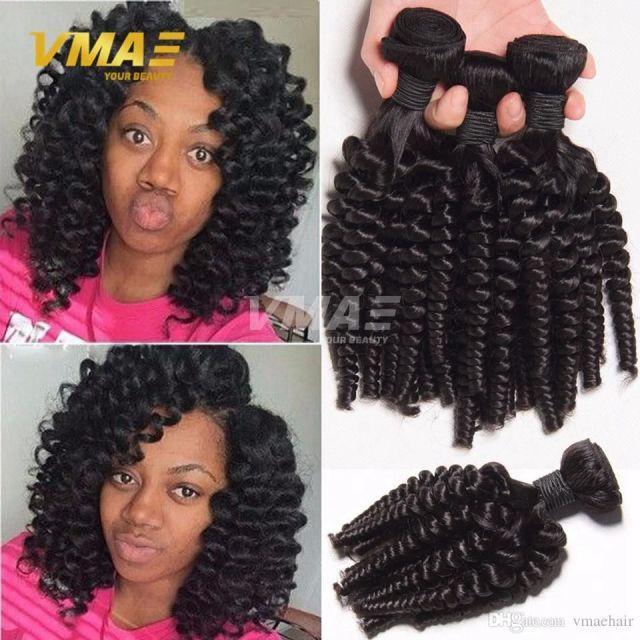 3 bundles deals afro wave kinky curly hair spiral curl weave human hair peruvian virgin hair afro curly wave bouncy curls