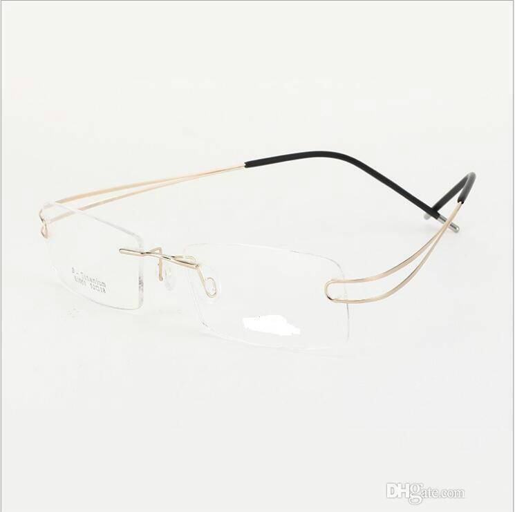 da4d43520fb3 Silhouette Rimless Titanium Gl Non. Silhouette Eyegl Titan Accent Chassis  5452 Rimless Optical Frame Home Family Improvement