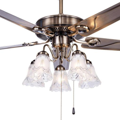 A1 Fan Ceiling Fan Light Restaurant Living Room Bedroom Minimalist     A1 Fan Ceiling Fan Light Restaurant Living Room Bedroom Minimalist Modern  Iron Leaf with LED European Leaf Lamp Fan Ceiling Iron Leaf Ceiling Fans  Light
