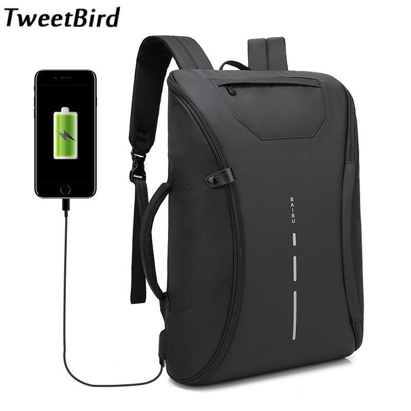acheter tweetbird meilleur professionnel hommes d affaires sac a dos voyage etanche oxford slim ordinateur portable sacs a dos ecole sac bureau hommes sacs