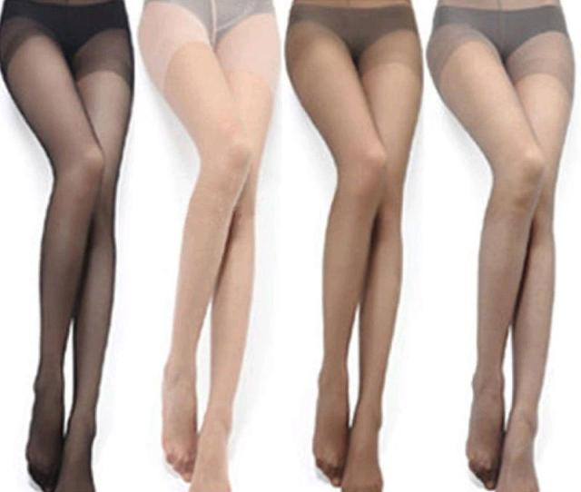 Lady Girl Female Nylon Sheer Stockings Invisible Thin Tights Ultra Slim Sexy Collant Pantyhose Medias Pantis Tights For Woman From Vanilla