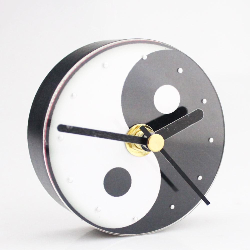 acheter yin yang horloge murale refrigerateur horloge refrigerateur fengshui bonne chance portable imanes chine cuisine decoration de la maison culture