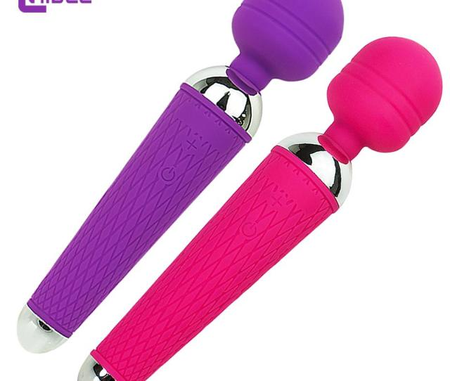 Powerful Vibrator For Woman Oral Clit Adult Sex Toys Personal Massager Magic Wand Av G Spot Waterproof Rechargeable Massage 49 Vibrators For Sale Women Toys