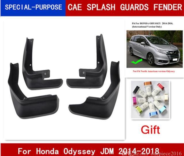 Car Mudflaps Splash Guards Mud Flap Mudguards Fender For Honda Odyssey Mpv International  2017 2018 Exterior Auto Accessories Exterior Auto