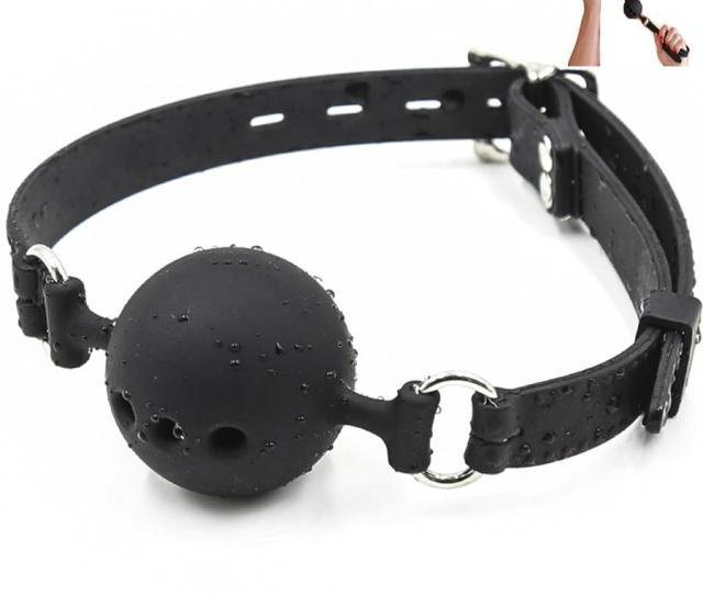 Fetish Extreme Full Silicone Breathable Ball Gag Breathable Open Mouth Gagsadult Sex Toys For Couple Size S M L C Online Games No Download Online