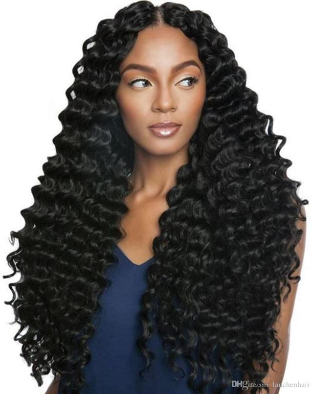 deep wave human hair 360 lace front wigs with baby hair brazilian hair 360 lace frontal wig natural hairstyles for black woman