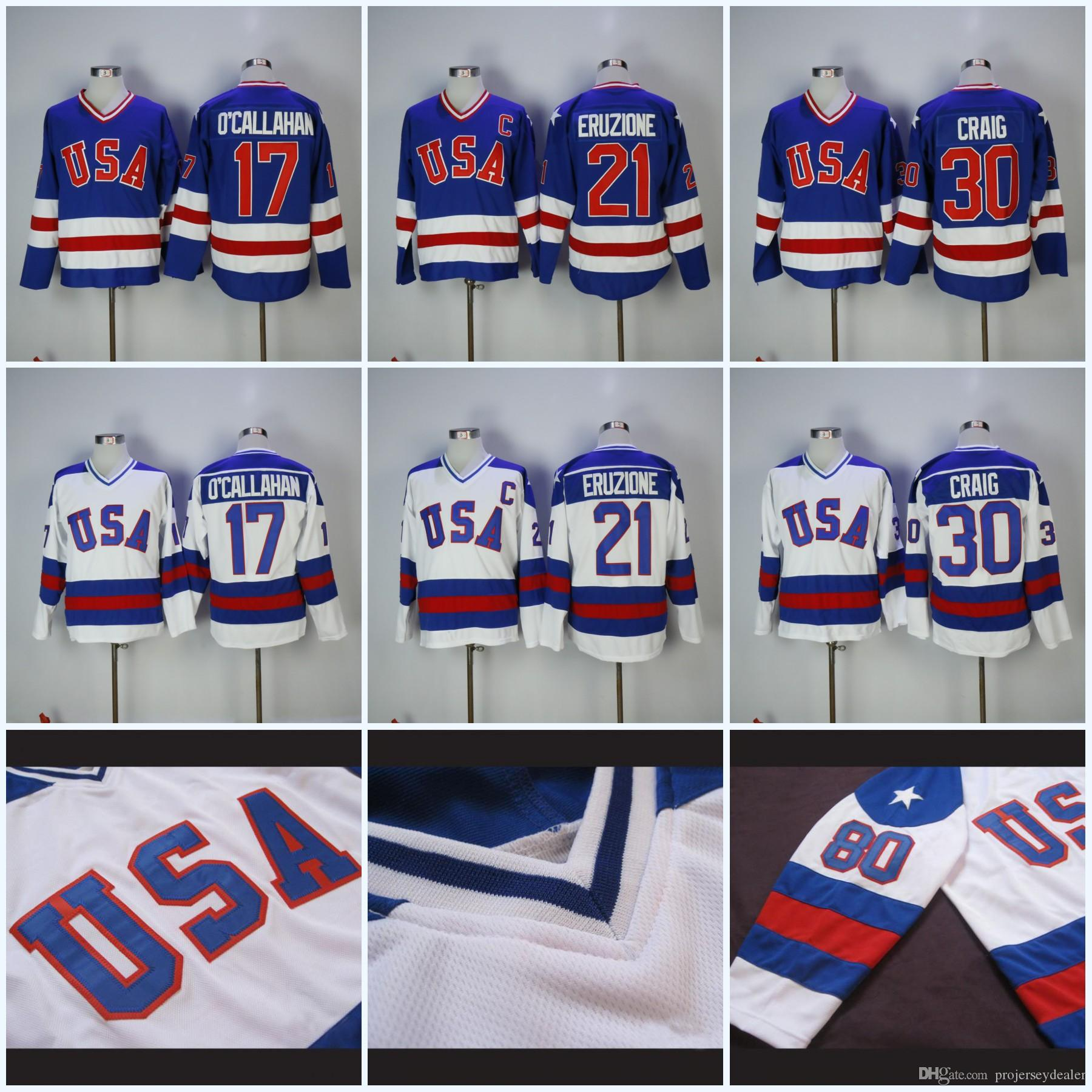 Mens 17 Jack O Callahan Olympic Team Usa Hockey