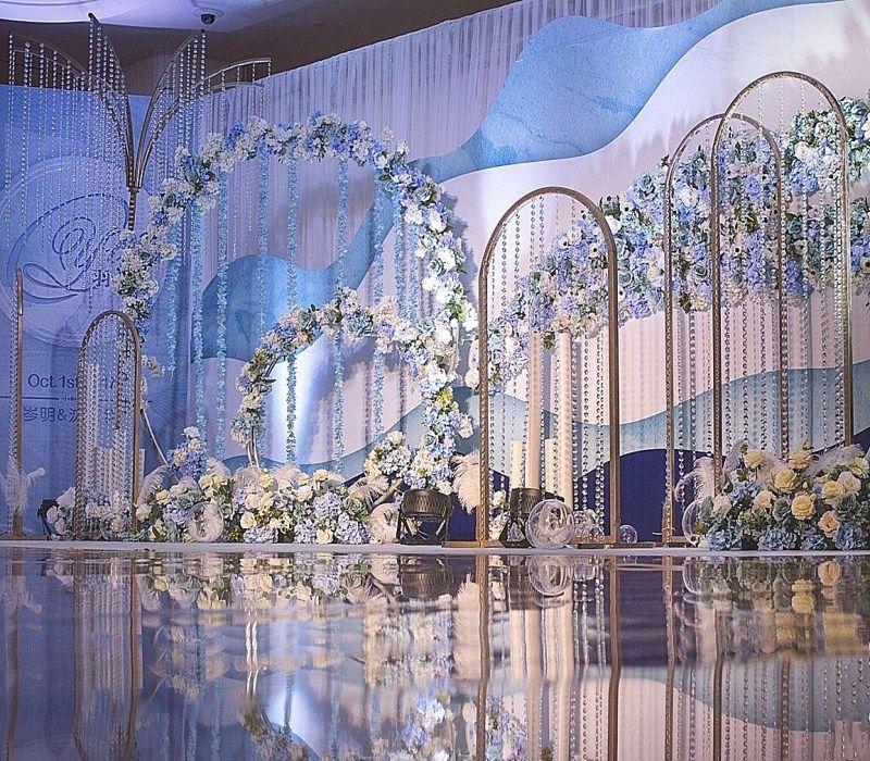Latest Design Wedding Stage Decoration, Best Asian Wedding ...
