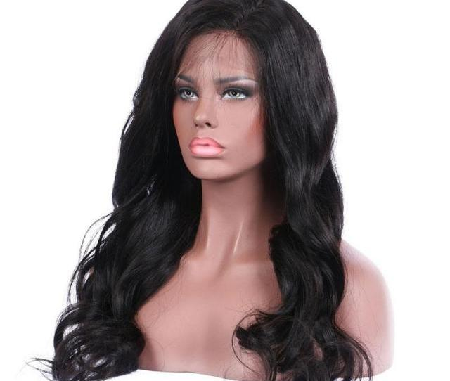 Wholesale A Best Quality Wig Sale Directly From Factory Fashional Looking Loose Wave Full Lace Wig Tangle Free Glueless Wig Loosewavewigs Humanwig