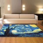 Home Decoration Large Rugs 3d Oil Painting Carpets Kids Room Play Mat Flannel Memory Foam Area Rug Carpet For Living Room C19030201