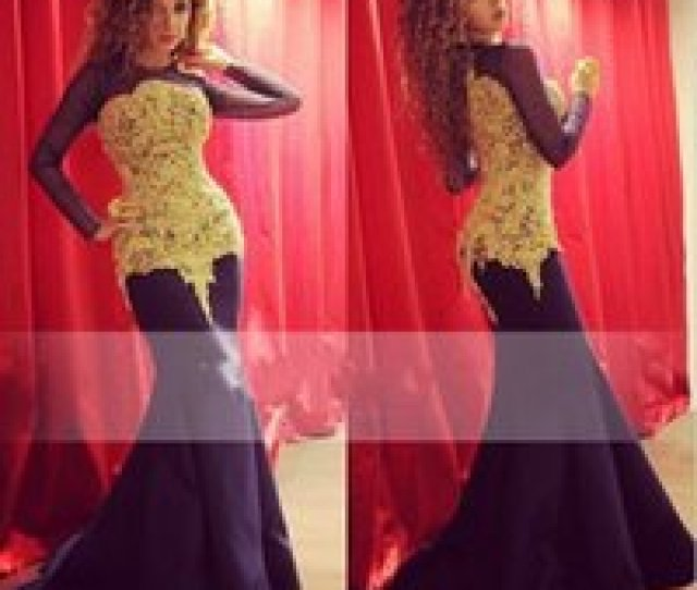Wholesale Myriam Fares Hot Dress Online Hot Arabic Singer Myriam Fares Vintage Long Sleeves Evening