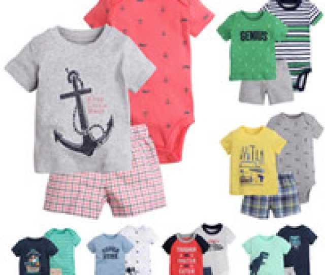 Pieces Clothing Sets T Shirt Rompers Tops Pants Baby Boys Newborn Infant Toddler Boutique Kids Children Clothes Short Sleeve Outfits