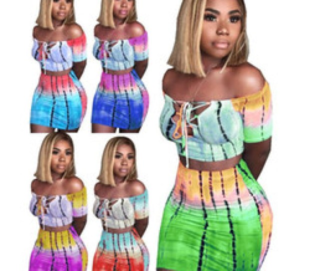 American Necked Girls Sexy Online Shopping Women Off Shoulder Short Sleeve Sexy Lace Up Crop