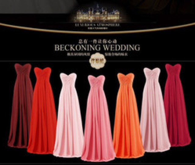 2019 Winter New Tube Top Dress Bridesmaid Evening Dress Banquet Evening Evening Dress