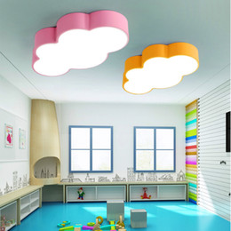Kids Bedroom Lighting Fixtures Online Shopping   Kids Bedroom     LED cloud kids room lighting children ceiling lamp baby ceiling light with  yellow blue red white color for boys girls bedroom fixtures