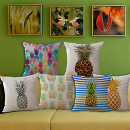 Discount Wholesale Pineapple Home Decor   Wholesale Pineapple Home     New Sequin Pillow Case cover pineapple Pillowcase Square Pillow Case  Cushion Cover Home Sofa Car Decor Mermaid Bright Pillow Covers B0641  affordable