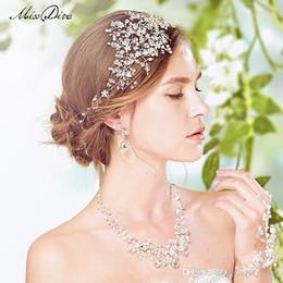 crystal tiaras hair accessories high quality wedding hair jewelry bridal headdress wedding hair pieces flowers wedding accessories