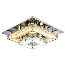 Shop Plafond Lamp UK   Plafond Lamp free delivery to UK   Dhgate UK Modern Crystal LED Ceiling Lights Bedroom Living Room Plafond Lamp Surface  Mounting Ceiling Chandeliers Transparent Amber Crystal