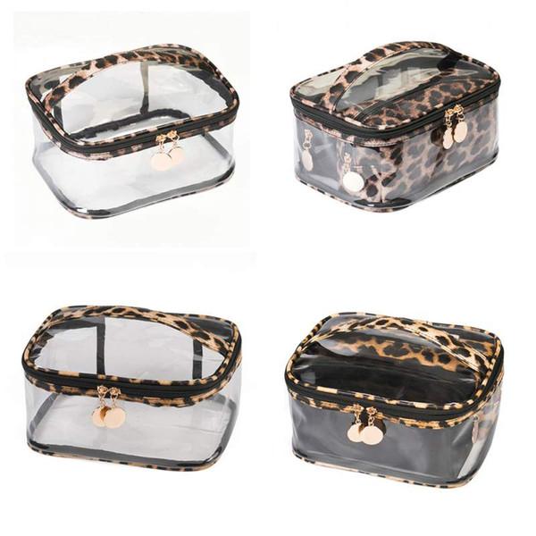 Storage Bag Leopard Print Cosmetic